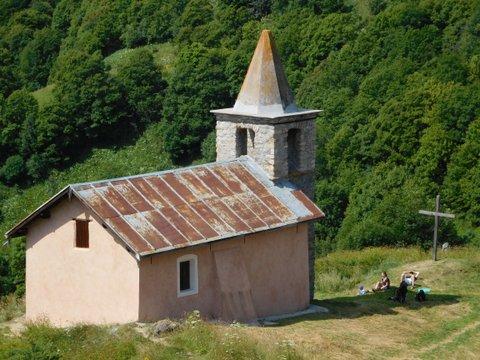 Chapelle du Poingt Ravier à Valloire