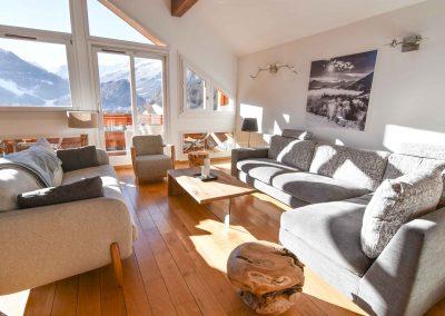 Charming apartment rental in Valloire - hameau de Valloire - Lounge (level 2)