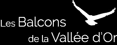 Logo Les Balcons de la Vallée d'Or - location de chalets de charme