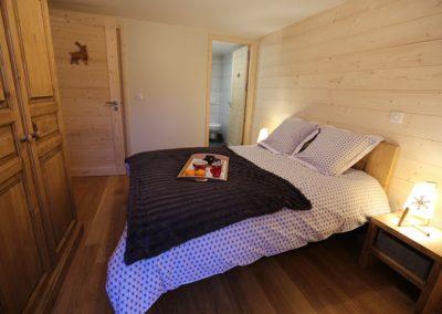 Le Hameau du Pontet - Chambre Cerf vue 2 niveau -1