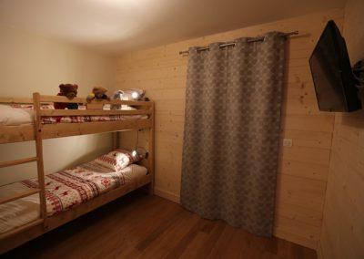 Le Hameau du Pontet - Chambre Mouton avec 1 lit superposé niveau -2